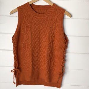 No label sweater vest